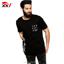 New style men longline cheap and fashion new trend t-shirts in bulk online shopping