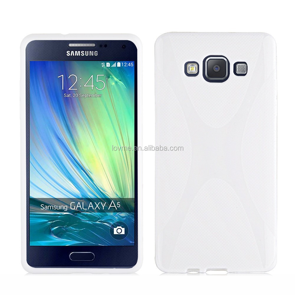 Xline Clear tpu Gel Case Back Cover For Samsung Galaxy A5