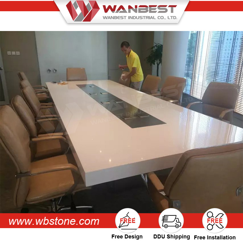 New Triangle Meeting table/wooden triangle table/meeting table conference
