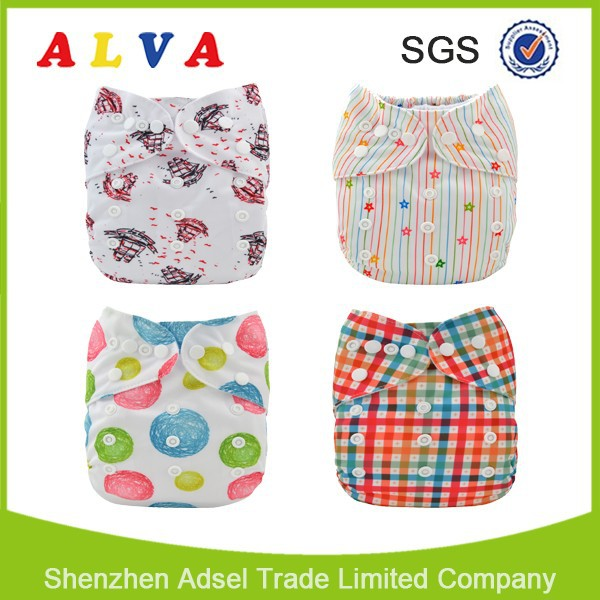 Alva Wholesale Adult Baby Diaper Stories Baby Print Adult Baby Style Diapers