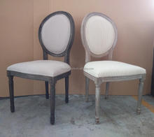 French Oval Back Antique Reproduction Dining Chairs