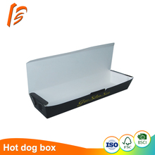 hot dog paper tray food grade paper box