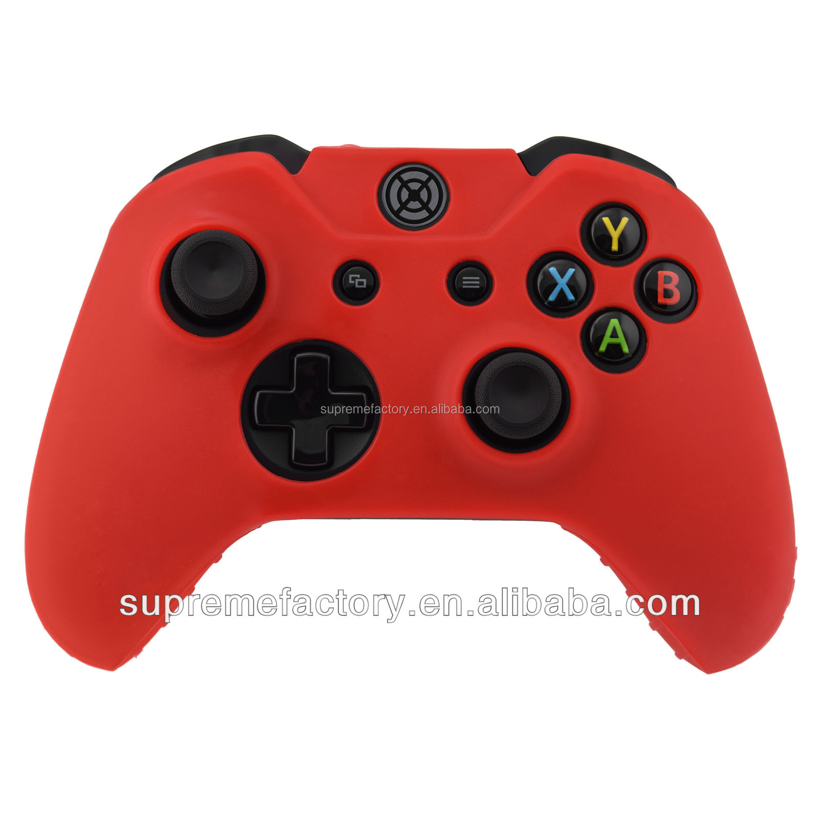 Red Silicone Rubber Protective Cover Case Pouch For Microsoft XBox One Controller