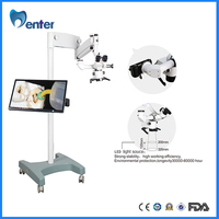 COXO DB-878-3 SONY series compact system camera Microscope Operation For Dental