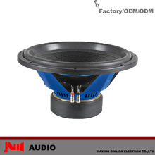 Hot Sell Fashionable New 500w RMS 10inch/12inch/15inch High Performance Car Subwoofer
