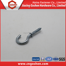 M 10 Zinc Plated Wood Screw Hook