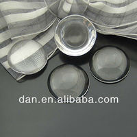 Glass Cabochons - Extremely Clear 1 Inch (25mm) Clear Transparent Circle Domed Magnifying Glass Cabochon Covers
