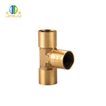 High quality durable using various copper 3 way pipe connector