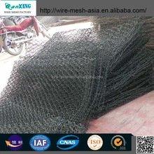 triple twisted gabion mesh /hexagonal mesh/gabion box chicken wire fencing mesh