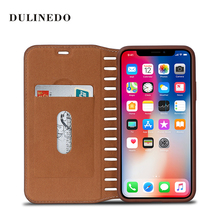 High Quality Magnetic Leather Wallet Mobile Phone Case for iPhone 8 iPhone 7
