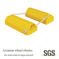 mid size aircraft using aviation polyurethane wheel chocks