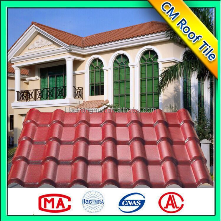 Waterproof Plastic Environment Friendly Roof Shingle