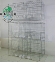 6door pigeon breeding cage/racing pigeon cage-1x0.55x1.5m in size