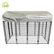 Cheap durable galvanized steel dog kennel panel