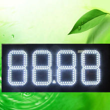 led alibaba.com in russian outdoor waterproof wireless rf control 88.88 white led gas price sign