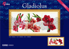 beautiful handmade examples of handicrafts cross stitch kits for home decoration