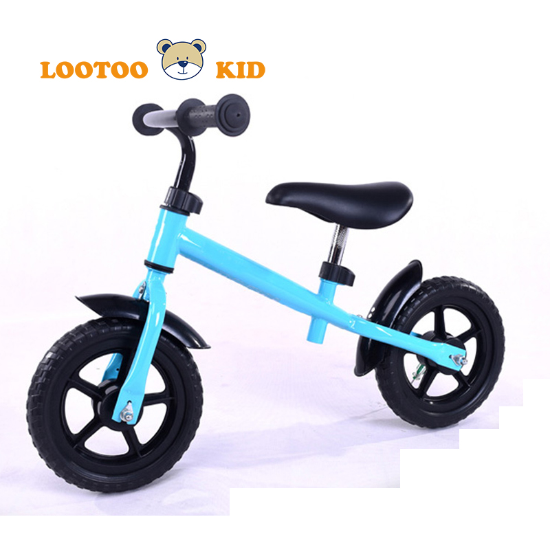 China hot sale 4 EVA wheel balance bike for girls / steel frame kids balance bike