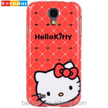 Promotional gift wholesale mobile phone case for samsung galaxy s4 hello kitty case