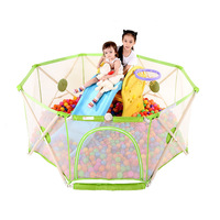 High quality cheap wholesale outdoor portable kids play pen fence baby play pen
