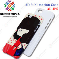 3D Blank Cellphone Case for iPhone 5|5s