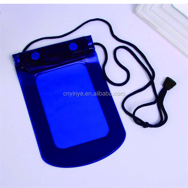 cheap price plastic cell phone waterproof dry bag