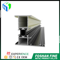 China factory anodized aluminum extrusions for screen