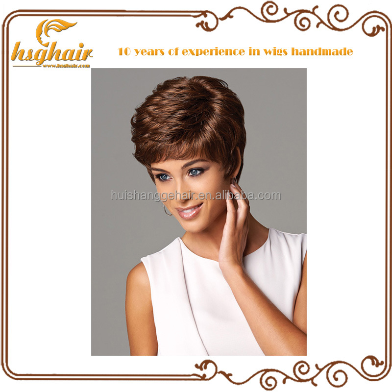 100% virgin unprocessed human hair short lace wigs