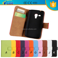 2015 Hot selling Leather case for samsung galaxy trend lite gt-s7390 / fresh duos gt-s7392