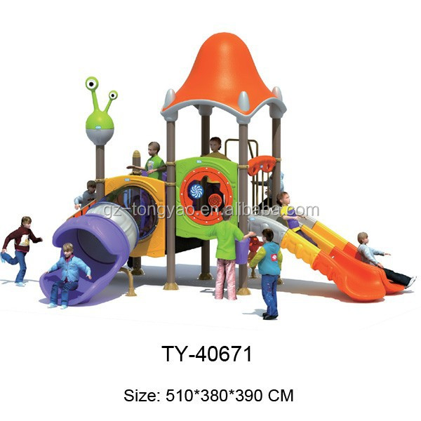 Babies Outdoor Playground Equipment With High Quality,Climbing And Slide,Metal And Plastic