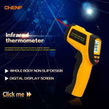 CHENF China supplier factory wholesales 0.1~1.0 adjustable Industrial Usage infrared thermometer GM900 -50~+900C