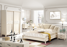 Wedding bedroom furniture Simple Eurppean room furniture E1 MDF