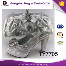 Fashionable Italian Shoes And Bag Set Luxury African Style Shoes Match Bag Sets For party