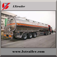 Widely used 3axle 60M3 capacity fuel transport tanker oil delivery truck trailer for sale