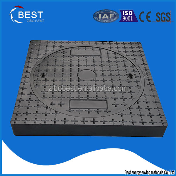 EN124 A70 made in China customized jrc 12 carriageway bmc manhole cover