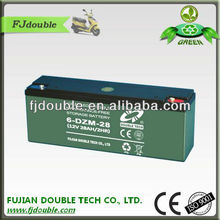 customized 12v 28ah electric scooter lead acid batteries price