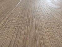 Brushed oak prefinished engineered wood flooring natural color with CE, FSC , ISO