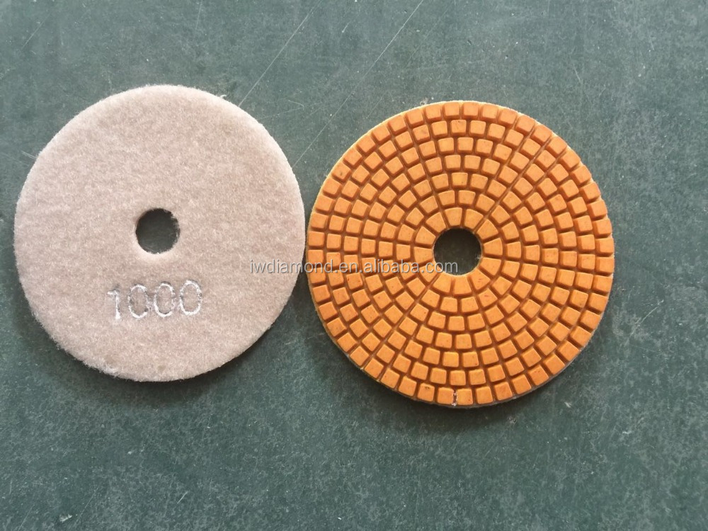 Resin Flexible Polishing Pad For Granite Marble Quartz Terrazzo Ceramic Tile