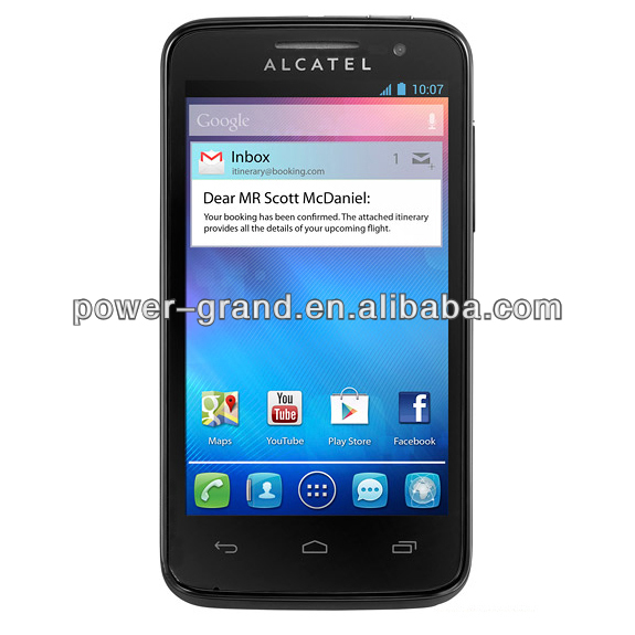 Screen protector film for Alcatel One Touch M'Pop Mpop OT-5020 5020D 5020E 5020W