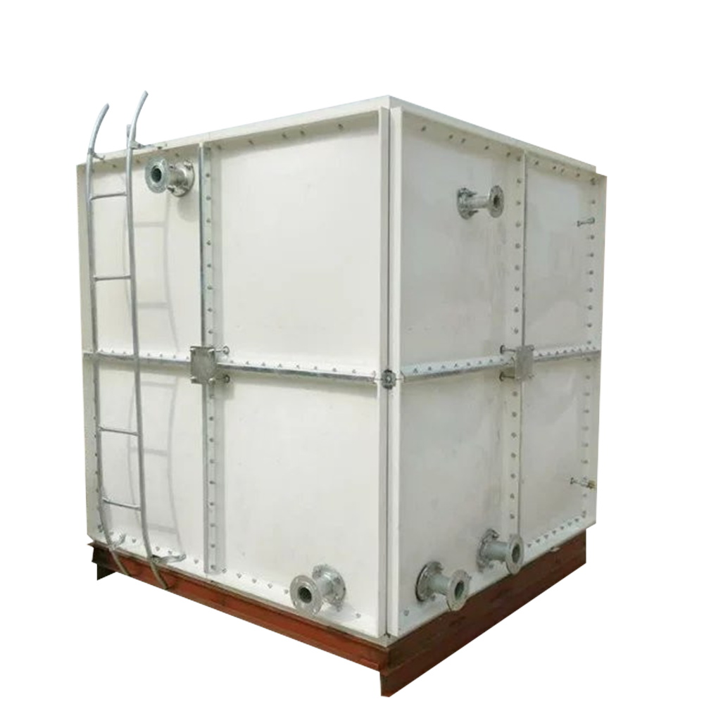 Buy FRP GRP SMC panel raw water storage tank plastic tank
