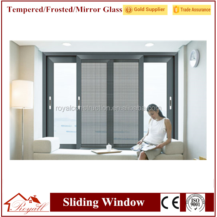 Hot selling glass roof sliding windows