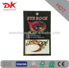 Eyes rock europe temporary tattoo stickers