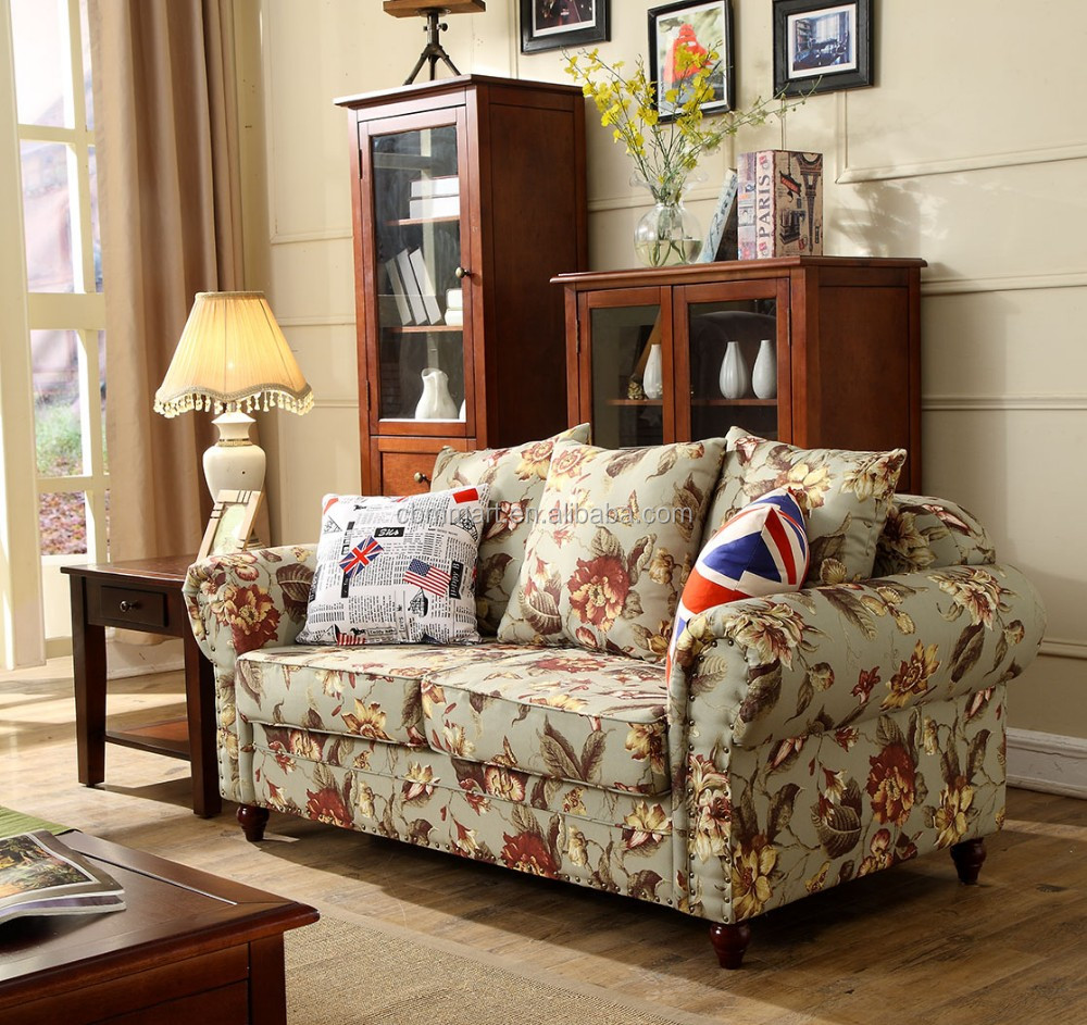 America style fabric sectional sofa 3+2+1 seater sofa-in Living Room ...