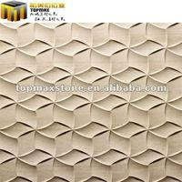Good Quality Nature Polished Carved Stone Wall Decoration - Buy ...