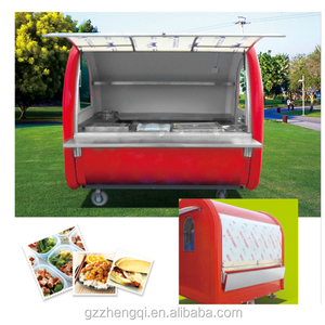 china mobile food cart fast food carts,street food vending cart