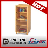 2015 DIY made in Taiwan home wooden glass design kitchen cabinet
