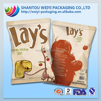 SAFETY FOOD GRADE! ziplock opaque plastic bags manufacturer for banana chips packaging