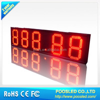 7 segment display red \ 7 segment electronic board screen \ 7 segment led digital display