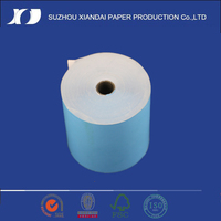 2013 Most Popular&High Quality best selling blue, plastic roll on thermal pos paper