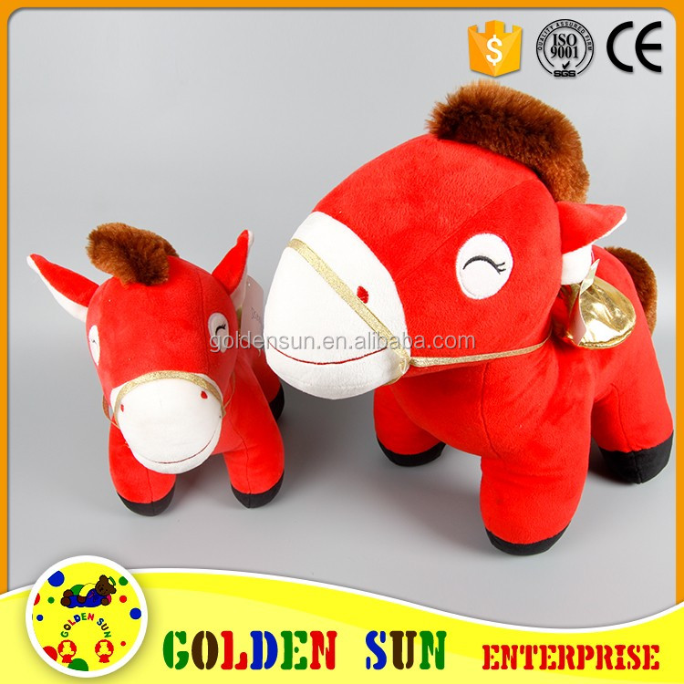 Toys For Christmas For Adults : Plush horse walking toy for children and adults stuffed