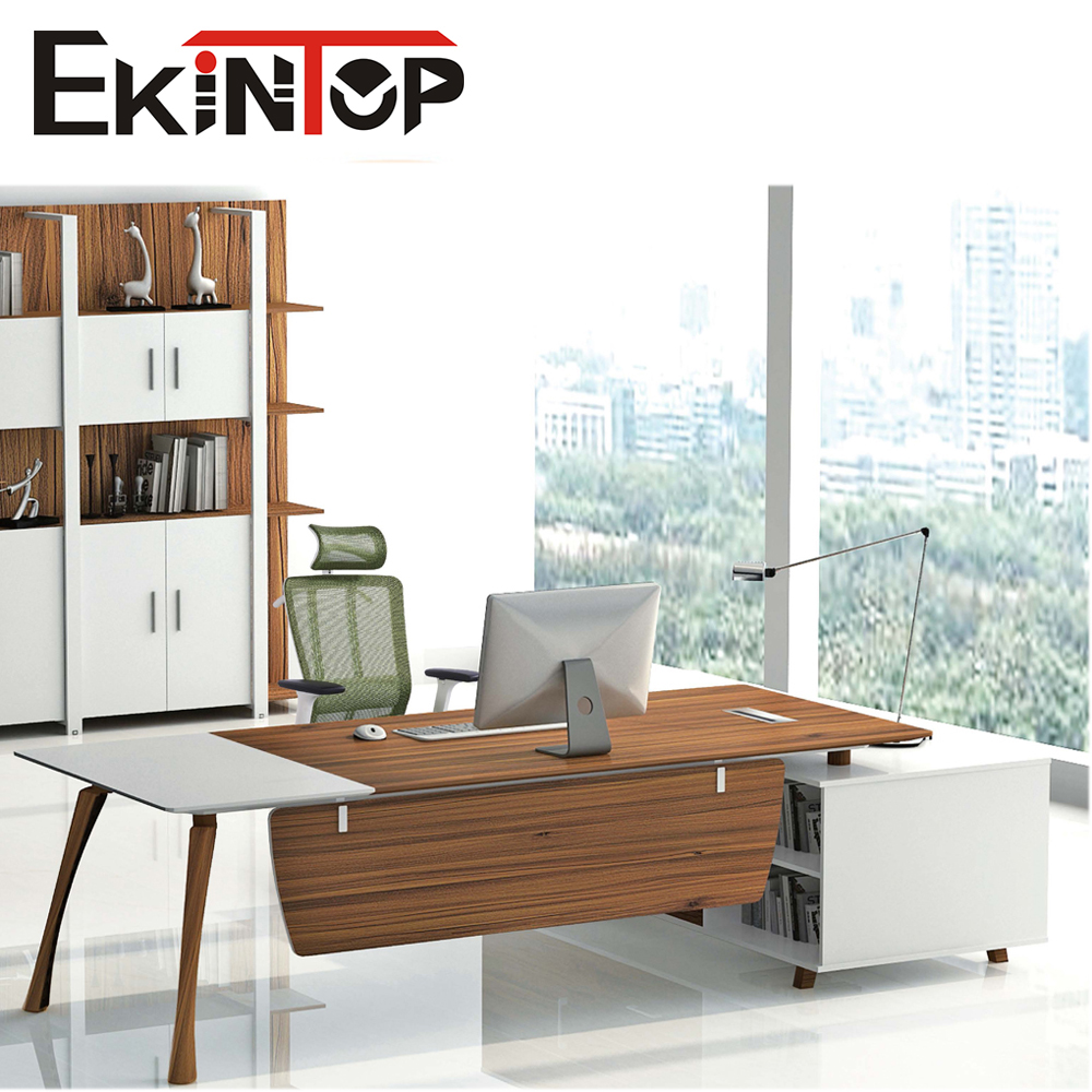 2016 modern stainless steel executive latest melamine office table design